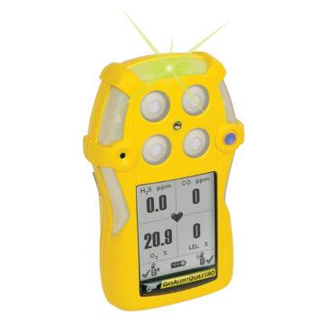 Detector de gás GasAlert Quattro.