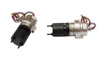 Detector de gás Optima Plus em visão lateral e traseira.