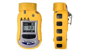 Detector de gás ToxiRAE Pro PID.
