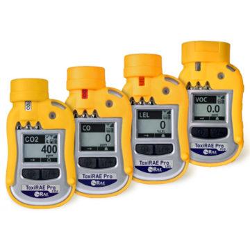 Linha de detectores de gás ToxiRAE Pro.