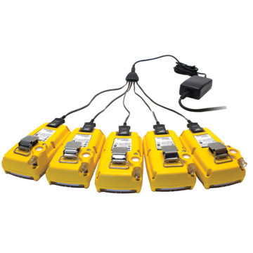Adaptador de carregador para múltiplas unidades.