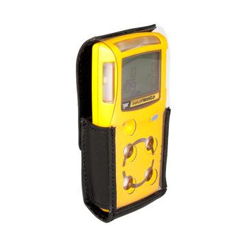 Capa de proteção em couro para detectores de gás MicroClip Series.