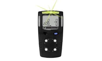 Detector de gás GasAlert MicroClip XL, na cor preta.