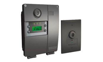 Detector de gás E3Point e sensor remoto.