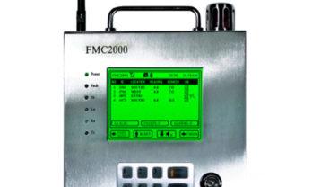Display da Central de Alarme FMC 2000.