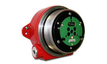 Detector de chamas FS20X sem tampa frontal.