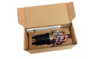 Detector de gás Optima Plus na caixa.