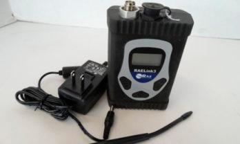 Modem wireless RAELink3 e acessórios.