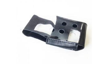 Capa de proteção em couro para MicroClip Series.