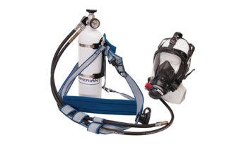 Respirador Hip Pac, com cilindro.