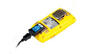Kit Conectividade IR conectado ao detector de gás MicroClip X3.