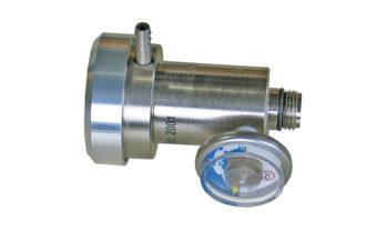 Válvula de demanda para cilindro de gás.