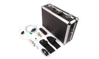 Maleta e acessórios de kit Micro 5 Series para espaço confinado.